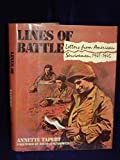Lines of Battle, Annette Tapert, 0812913167