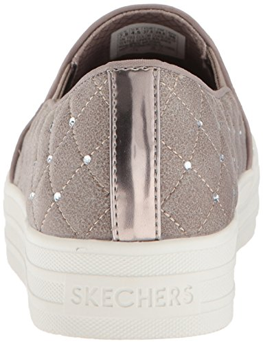 discount big sale buy cheap high quality Skechers Women's Double up-Distressed Quilted Sneaker Dktp free shipping new arrival with mastercard VsKNs4