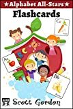 Alphabet All-Stars Flashcards (Fruits and Vegetables)
