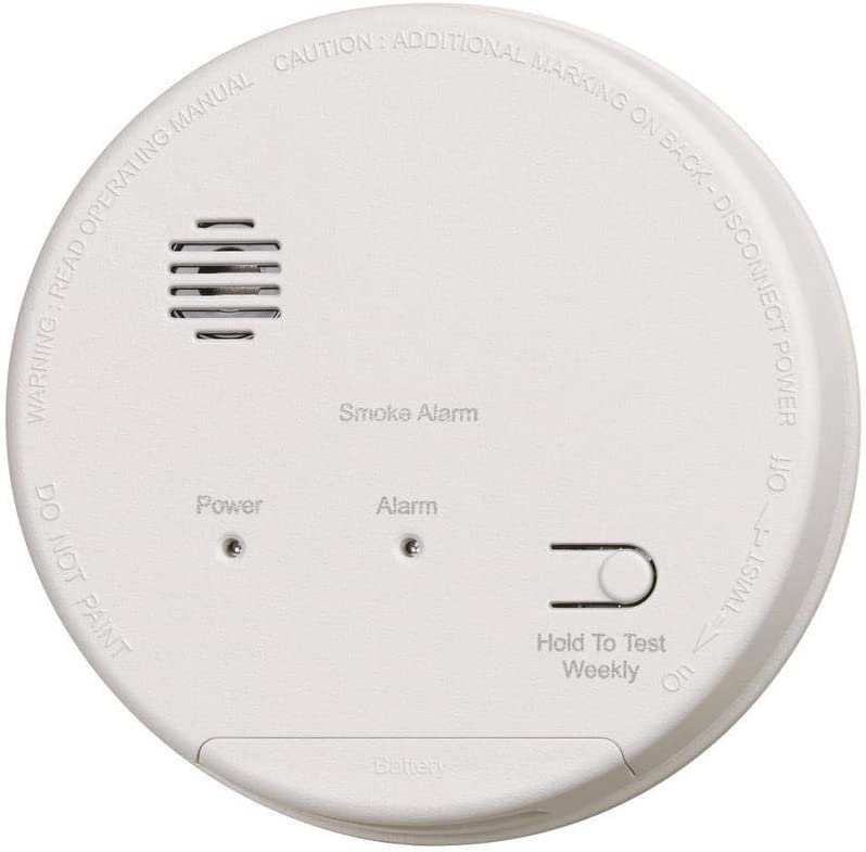 Gentex S1209 Smoke Alarm 120v Hardwired Interconnectable