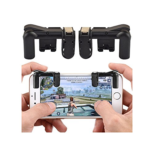 GZQ Mobile Game Controller Shoot and Aim Buttons L1R1 Triggers for Fortnite Mobile / PUBG Mobile / Knives Out / Rules of Survial / Survivor Royale / Critical Ops