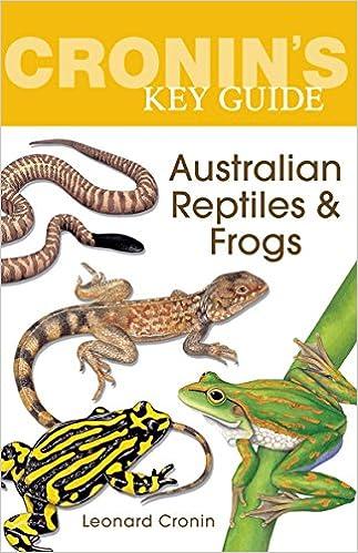 CroninS Key Guide to Australian Reptiles and Frogs: Amazon.es: Cronin, Leonard: Libros en idiomas extranjeros