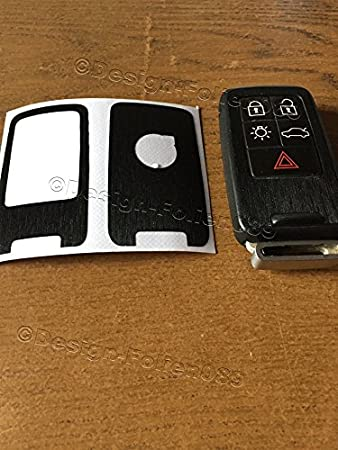 Silicone Cover fit for VOLVO S60 S80 V70 XC60 XC70 Smart Remote Key 6B CV4780 RD