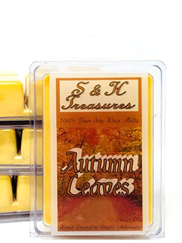 Autumn Leaves - Pure Soy Wax Melts - Fall Scents - 1 pack (6 cubes)