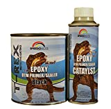 Epoxy Fast Dry 2.1 low voc DTM Primer & Sealer Black Quart Kit, SMR-260B-Q/261-8