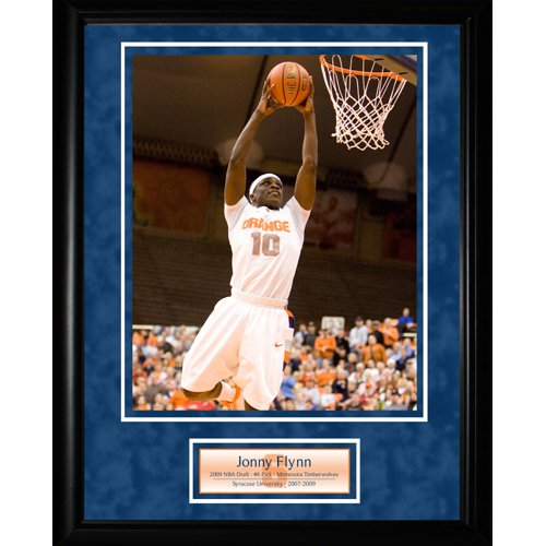 Amazon Com Jonny Flynn Syracuse Dunk 8x10 Framed Collage W