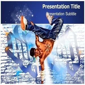Hip Hop PowerPoint Template - Hip Hop PowerPoint (PPT) Presentation Templates
