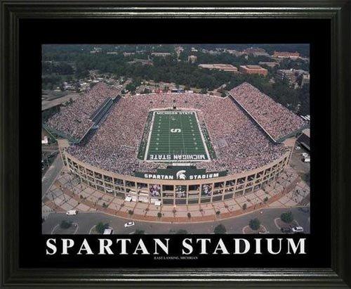 Michigan State Spartans Stadium Aerial - 1