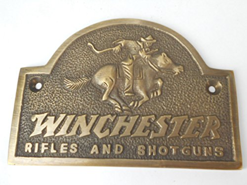 Winchester Rifles Shotguns Solid Plaque