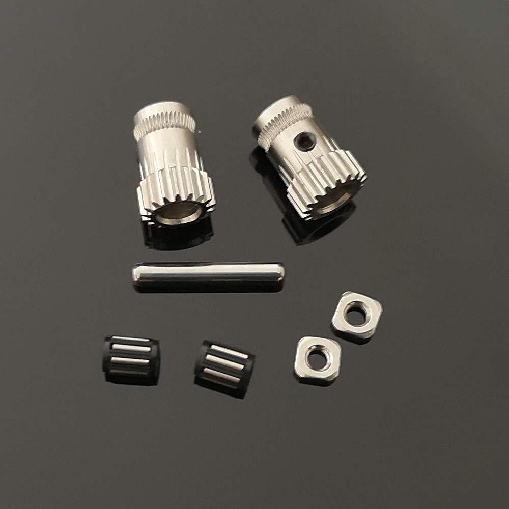3D Printer Prusa i3 MK2.5 MK3 extruder dual gears 1.75mm Extrusion drivegear Kit