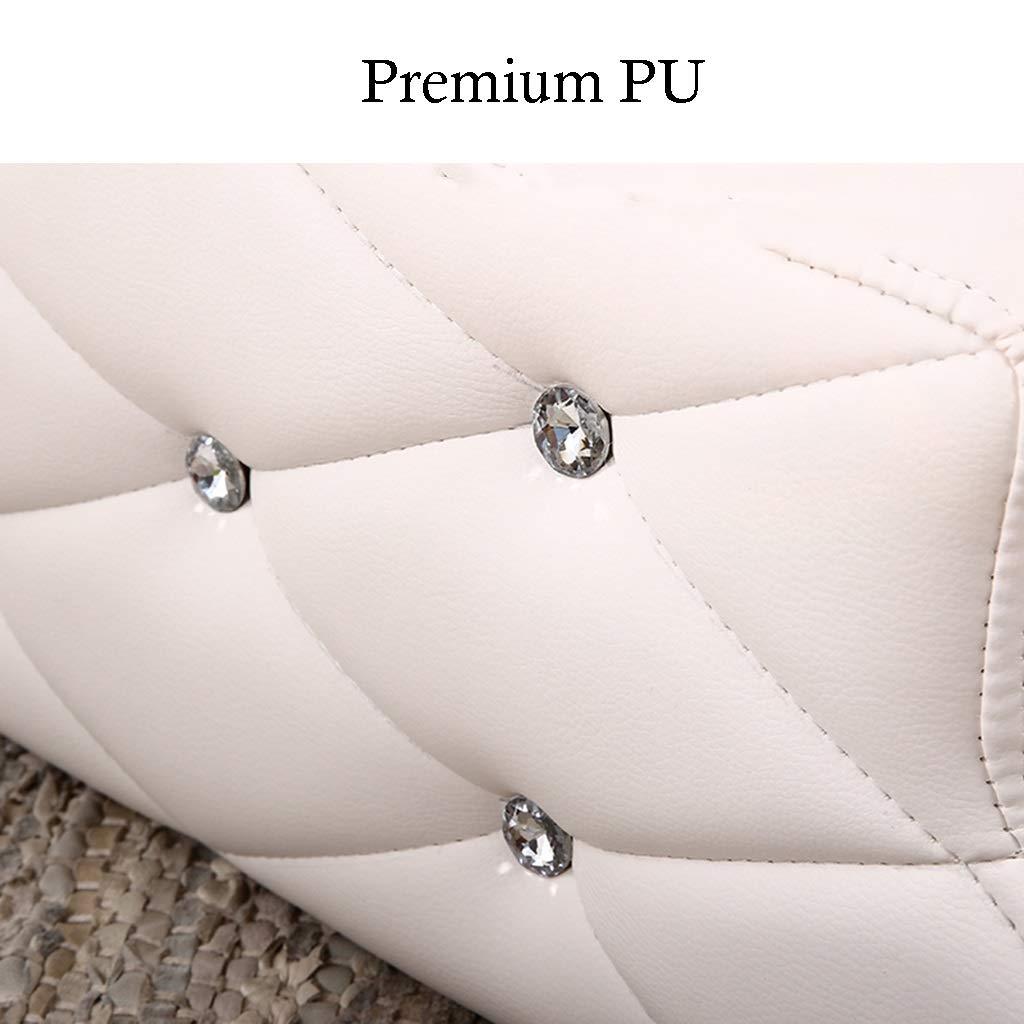 QZ Pet Ramp White Indoor para Perros Cat para sofá Cama, 2 escalones de PU para Mascotas en la Sala de Estar del Dormitorio: Amazon.es: Productos para ...
