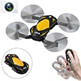 SZJJX RC Quadcopter Drone Remote Control Wifi FPV VR Foldable Helicopter 2.4GHz 6-Axis Gyro 4CH with 2MP HD Camera, Light RTF SJ69 Yellow