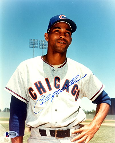 Billy Williams Autographed 8x10 Photo Chicago Cubs Beckett BAS #B26611