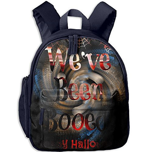 Halloween Free Weve Been Booed Printable Kids School Backpack Bookbag Adjustable Shoulder Straps Bag (Halloween Books Printable)