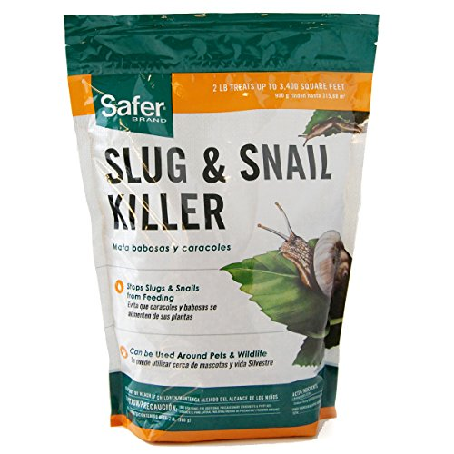 Safer Brand SB125 Slug & Snail Killer - 2 lb