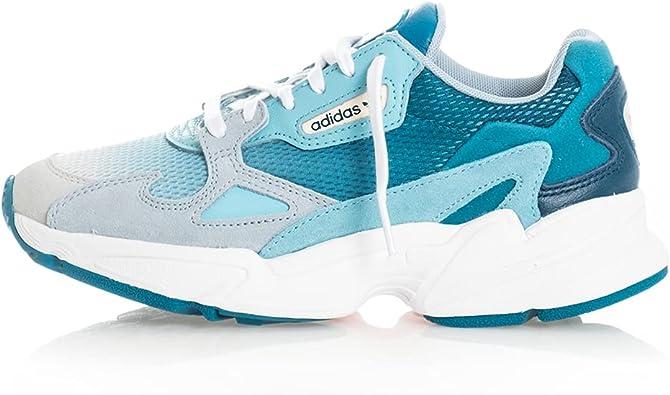 Amazon.com   adidas Originals Falcon W Blue Tint/Light Aqua ...