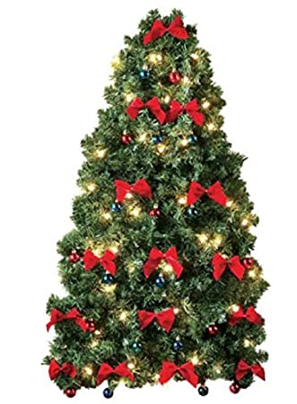 Image Unavailable. Image not available for. Color: Small Prelit Christmas  Tree ... - Amazon.com: Small Prelit Christmas Tree For Wall Electric Corded