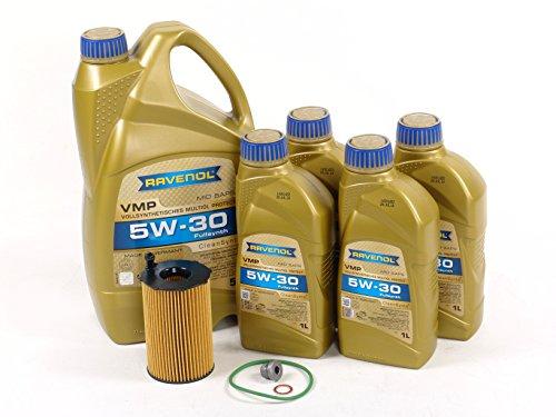 Blau J1A5112-C Motor Oil Change Kit - Compatible with 2014-16 Audi Q5 w/ 6 Cylinder 3.0L TDI Diesel Engine