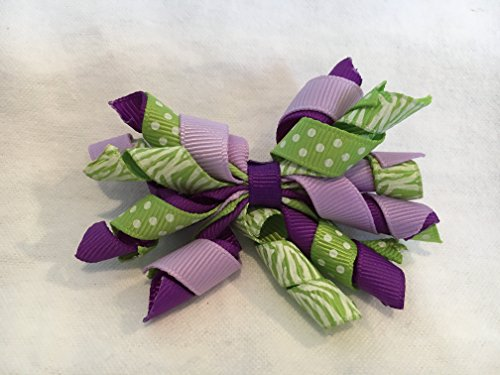 Korker Hair Bow, Fall Hair Bow, Halloween Hair Bow]()