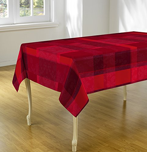 Exceptional Tablecloth U201cRed Scottishu201d, Stain Resistant, Washable, Liquid Spills Bead  Up, Seats 4 To 6 People (Other Size Available: 63 Inch Round, 60 X 80 Inch,  60 X ...