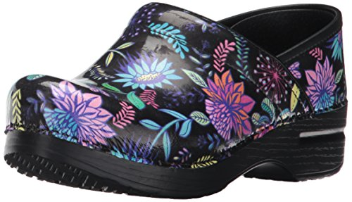 Dansko Women's Professional Mule, Wildflower Patent, 39 M EU / 8.5-9 B(M) US by Dansko