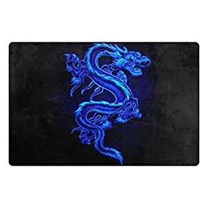 """PersonalizedShop Cool Chinese Dragon 23.6""""x15.7"""" Non-slip Top Quality Rug Doormat"""