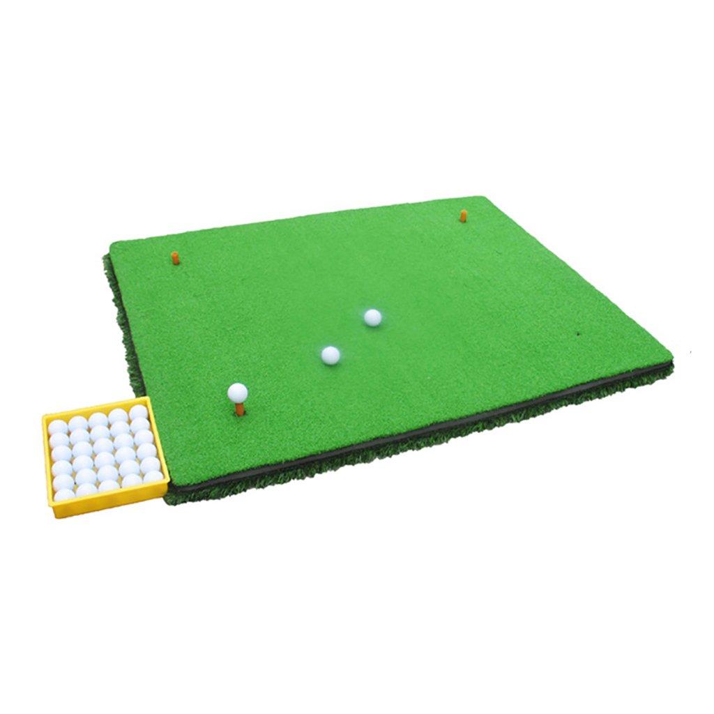 ゴルフスイングクッション屋外練習毛布100X120cm   B07DRFY7V5