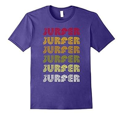 Classic Vintage Retro Surfer Funny Tshirt Gift