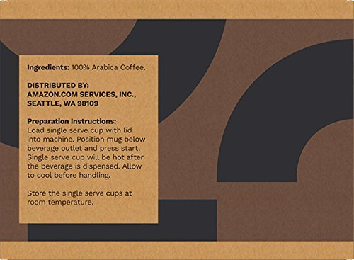 Amazon Brand - 100 Ct. Solimo Dark Roast Coffee Pods, Compatible with 2.0 K-Cup Brewers by Solimo (Image #3)