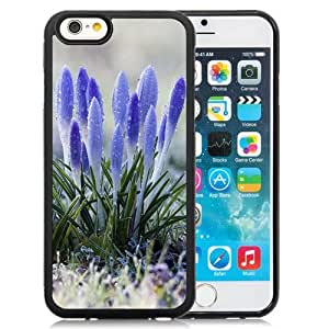 New Personalized Custom Designed For iPhone 6 4.7 Inch TPU Phone Case For Amazing Flowers with Dew Drops Phone Case Cover