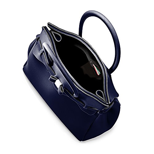 BORSA SAVE MY BAG - Preludio (Blu Scuro Metal/MetallicDark Blue)