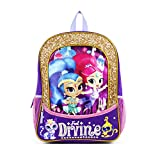 target backpack purse - NICKELODEON Shimmer and Shine Feel Divine 16 inch Purple and Gold Backpack