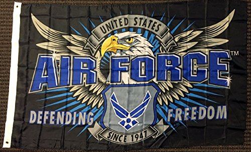 Capsmith 3x5 Mission First United States Air Force Defending Freedom Flag Military USAF ()