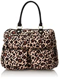 Betsey Johnson Women's Moms The Word Nylon Diaper Bag, Natural, One Size