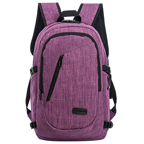 Anti theft Business water resistant polyester laptop backpack with USB charging port for - China Eyeglasses
