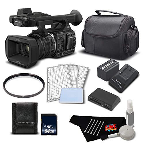 Panasonic HC-X1000 4K DCI/Ultra HD/Full HD Camcorder Deluxe Bundle- International Version