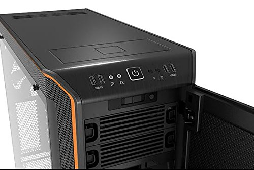 be quiet! BGW10 DARK BASE PRO 900 ATX Full Tower Computer Chassis - Black/Orange by be quiet! (Image #5)