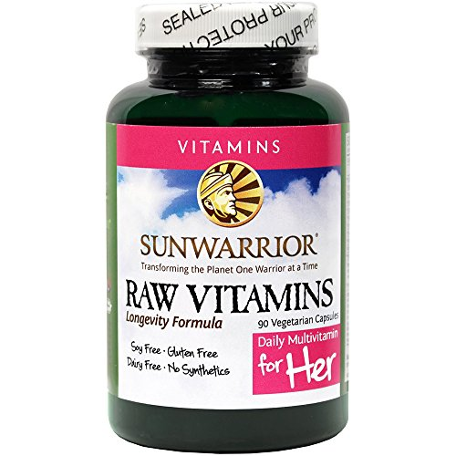 Sunwarrior Vegan Multivitamins Enzymes Capsules product image