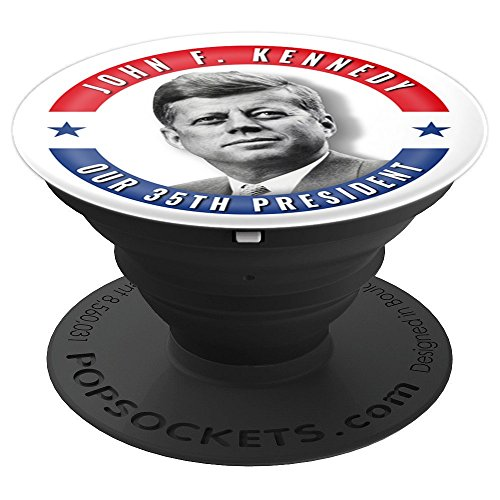 (JFK John F. Kennedy Presidential Memorial Gift Souvenir - PopSockets Grip and Stand for Phones and Tablets)