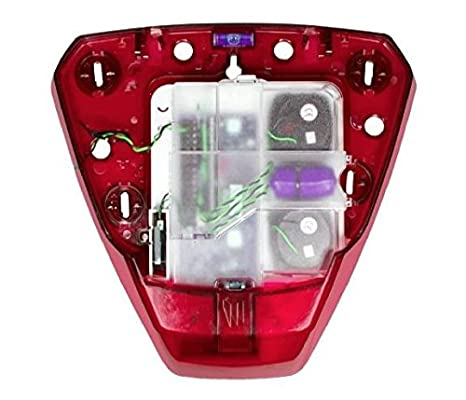 py112 - Pyronix Deltabell X rojo doble Piezo Sounder Base ...