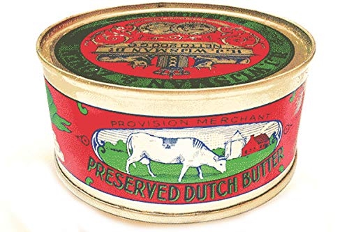Preserved Dutch Butter (Salted Butter) - 7.05oz (Pack of 60) by H.J. Wisjman (Image #1)