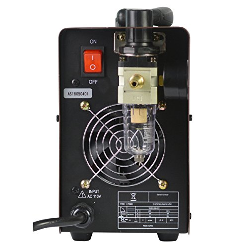 Product Name: Lotos LT3500 35Amp Air Plasma Cutter, 2/5 Inch Clean Cut, 110V/120V Input with Pre Installed NPT Quick Connector, Portable & Easy Quick Setup Metal Cutter