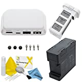 FPV Accessory Package For DJI Phantom 3 Advanced / Professional Quadcopter Drones: Includes DJI HDMI Output Module, DJI Phantom 3 Battery Charging Hub, Spare Battery and eDigital Cleaning Kit