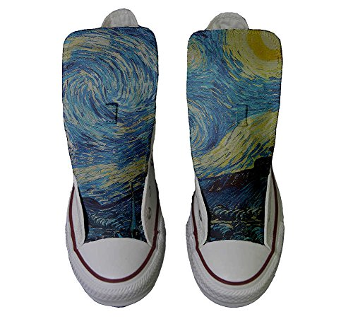 Converse Customized Adulte - chaussures coutume (produit artisanal) Van Gogh
