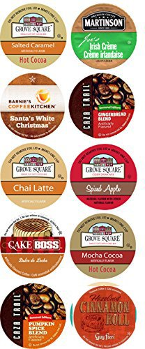 10 Cup HOLIDAY Celebration Limited Edition Single Serve Cups. Fall Favorites! Happy Holidays!