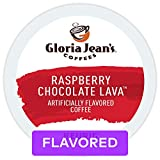 Gloria Jean's Coffees Raspberry Chocolate Lava, Single Serve Coffee K Cup Pods for Keurig Brewers, Flavored, 72Count