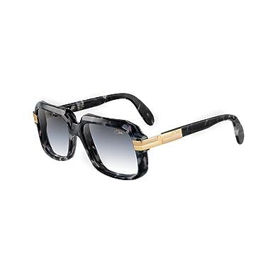 5af6e238217 Amazon.com  Cazal 607 3 Sunglasses 607 Legend Black Marble Gold (090 ...