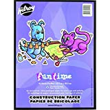 Funtime 41002 Construction Paper, 9x12-Inch, 96-Sheets
