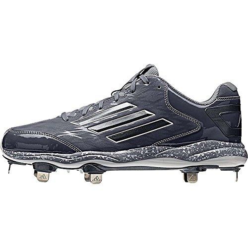 Adidas Mens Poweralley 2 Onix-carbonio Met-onix