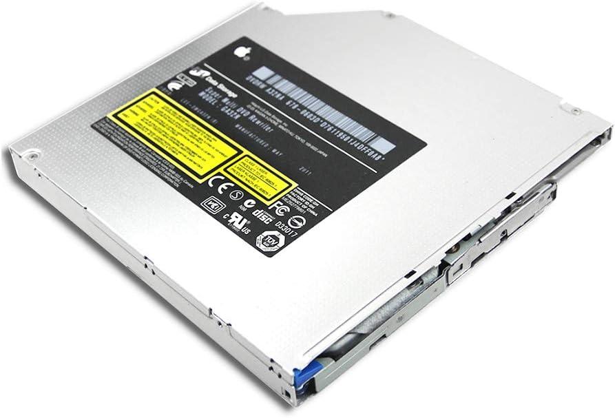 Genuine New Computer Internal 12.7mm Slot Loading Optical Drive, for Apple iMac All-in-One Desktop PC 8X DVD DL Superdrive HL-DT-ST DVDRW GA32N, Dual Layer DVD-RAM DVD+-R/RW 24X CD-R Burner